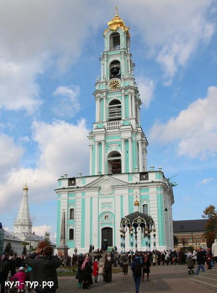 колокольня царь колокола троице-сергиева лавра