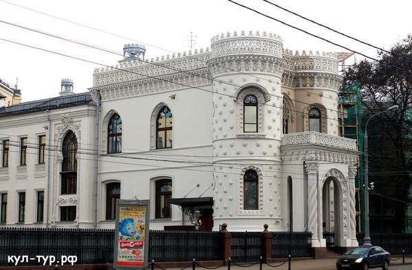 старинные здания арбата