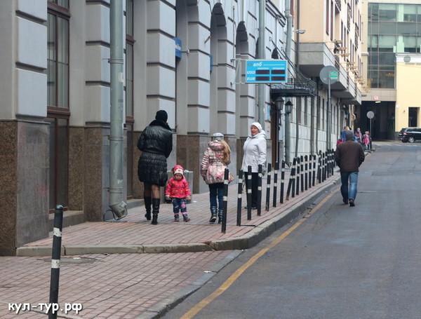 улицы москвы арбат