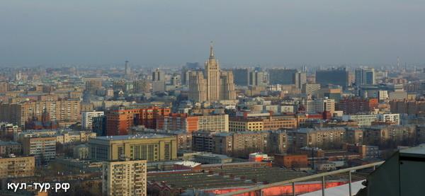 серая Москва