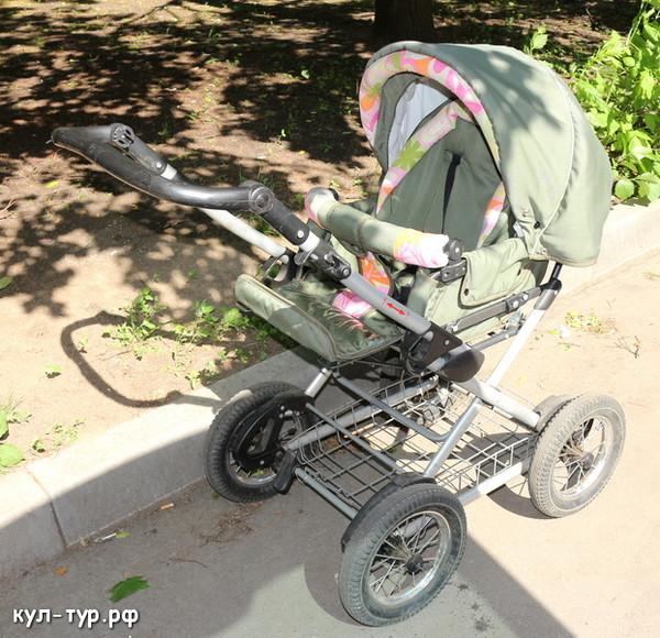 прогулочная детская коляска на большом шасси отзывы