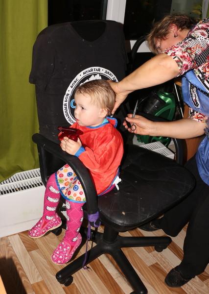 как подстричь ребёнка