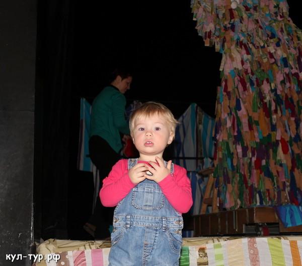 с ребёнком в театр