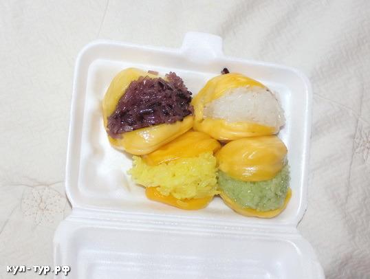 десерт из джекфрута