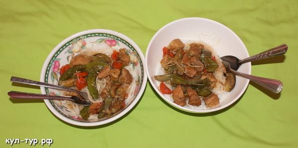 домашняя еда в тайланде