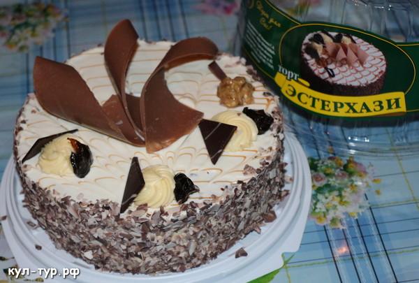 торт кировской кондитерской эстерхази