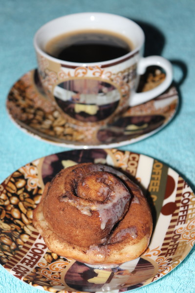 булочки с какао и корицей