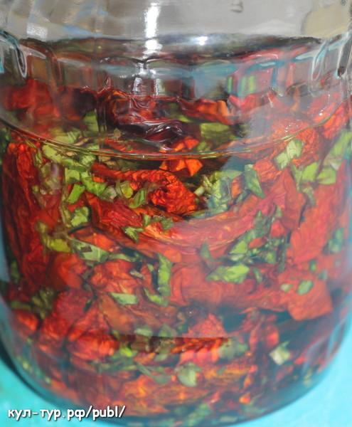 Рецепт - вяленые помидоры