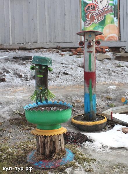 детская площадка в деревне