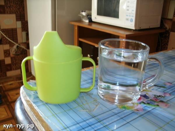 чистая вода на тощак