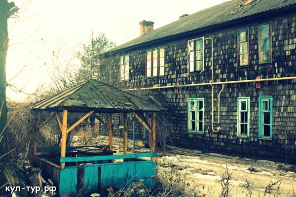 дом покрыт дранкой