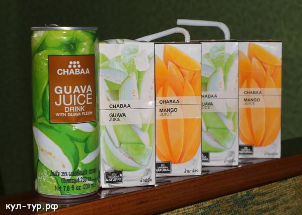 сок из тайланда в России
