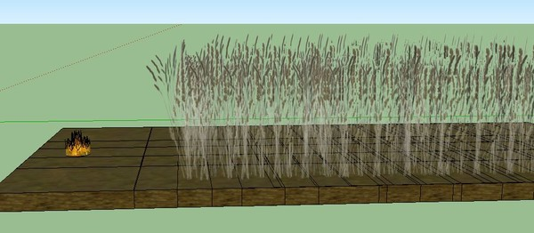 как правильно жечь траву