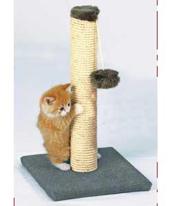 Как сделать когтеточки для кошек своими руками видео