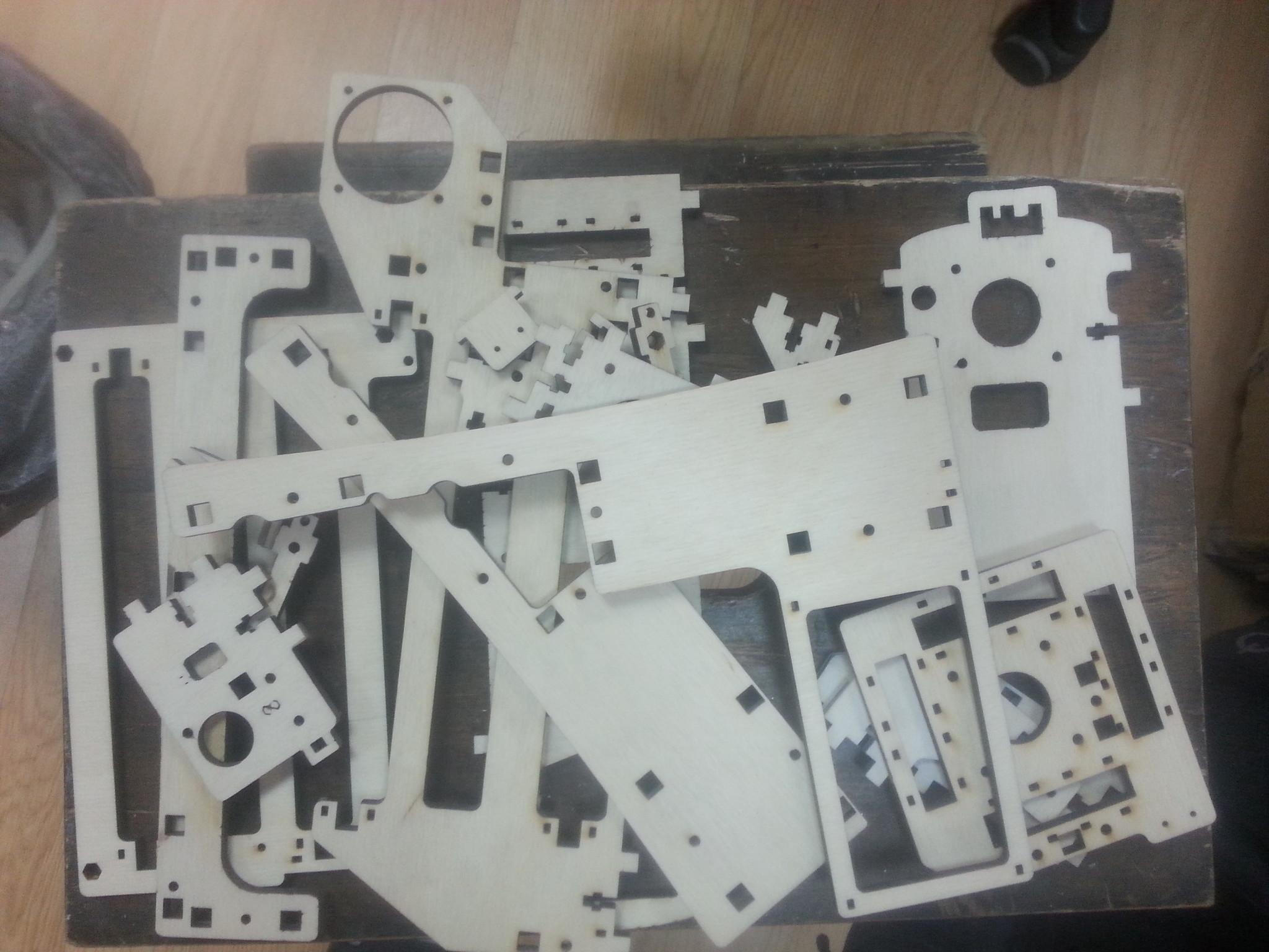 Мой 3D принтер.