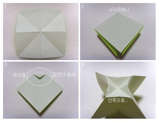 How to make a traditional origami bowtie page 2