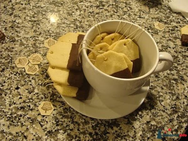 Пакетики чая с яйцами