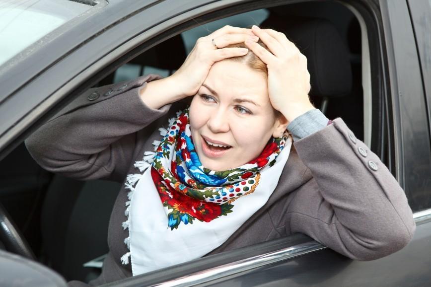 Женские секреты. Как справить нужду в машине, если срочно захотелось?