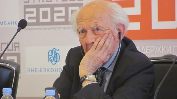 Встреча с классиком мировой социологии Зигмунтом Бауманом в РГГУ (отчет в блоге Гульшат Уразалиевой)