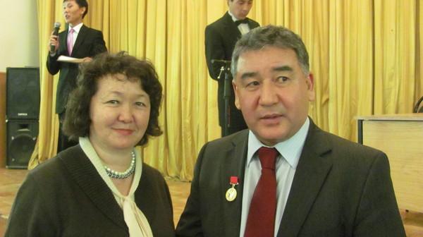 Б. Шакимов и Г. Уразалиева
