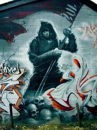отдать котят красивое граффити фото околофутбол переселили