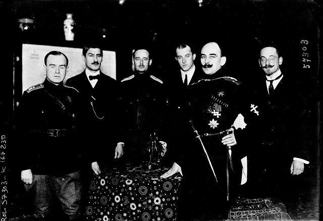 Картинки по запросу Генерал-майор П.М. Авалов (Бермондт)