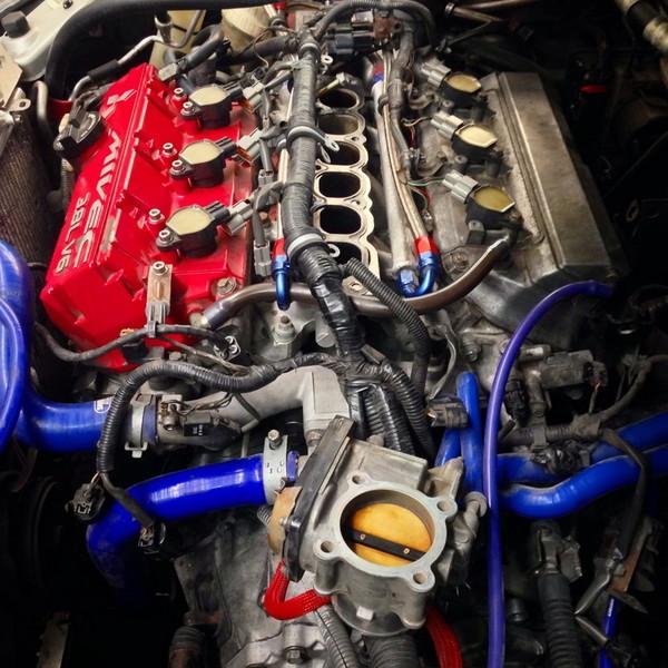 Двигатель, замена масла