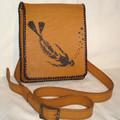 Ярмарка Мастеров - ручная работа Кожаная сумка дайвера.  Handmade.
