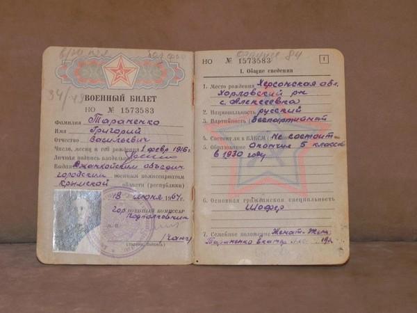 как выглядит белый военный билет украина фото исправен заводил его