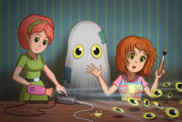 игры с картинкой призраками мужиков, да