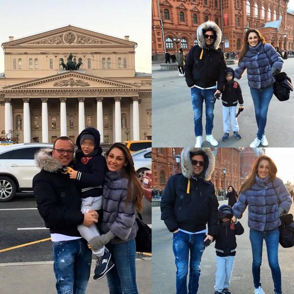 Джиджи д'Алессио (Gigi d'Alessio) и Anna Tatangelo в Москве
