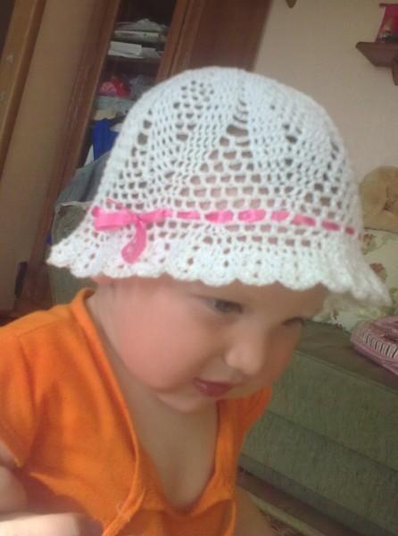шапочка на лето