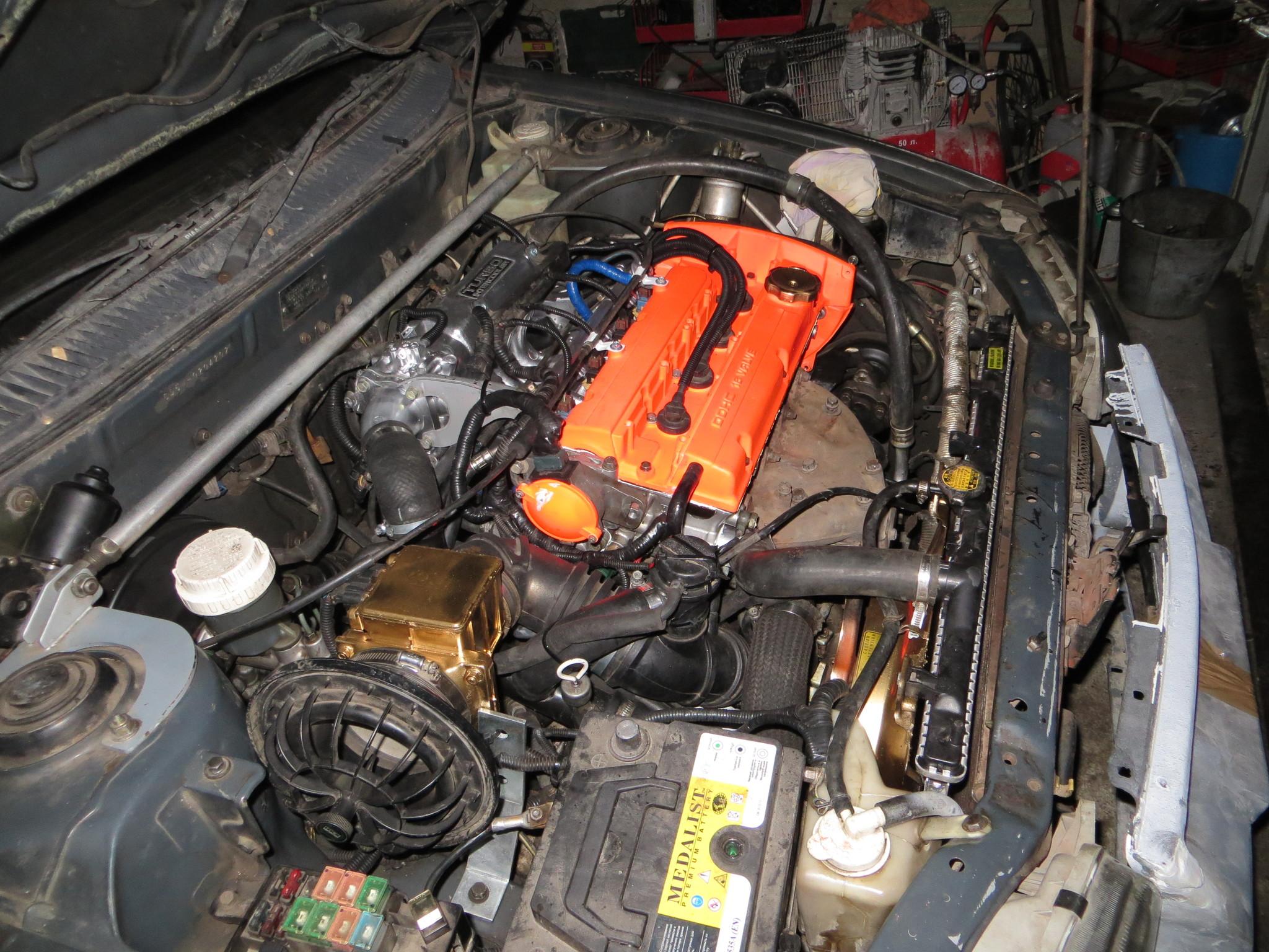 мой Libero 4G93 T/С CD5W 4WD - Mitsubishi Libero & Lancer V
