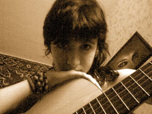 [с гитарой...]
