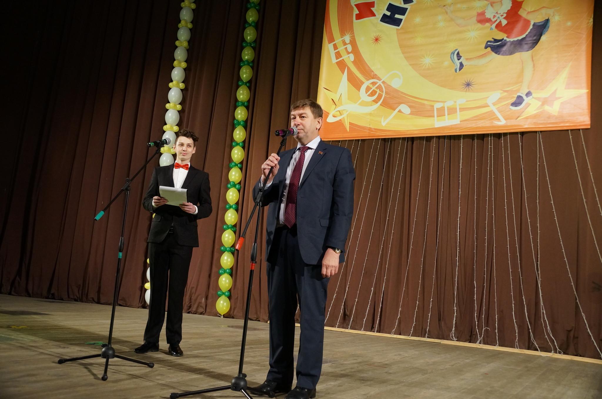Выступление Владимира Чебыкина на фестивале