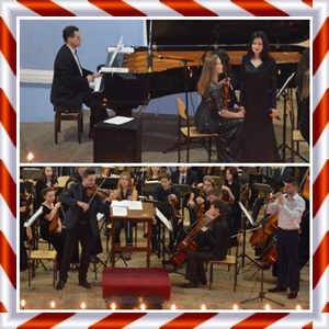 Рождественский концерт отдела «Эстрадный вокал».