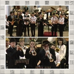 Різдвяний концерт відділу «Оркестрові духові та ударні інструменти».