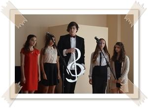 """""""Посвячення в музиканти"""" (студентів 1курсу Криворізького обласного музичного коледжу)"""