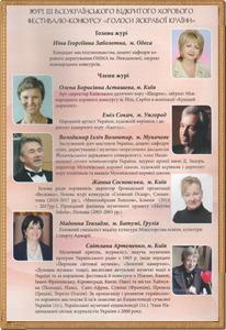 IIІ Всеукраїнський відкритий хоровий фестиваль-конкурс «Голоси Яскравої Країни»(м. Ужгород)