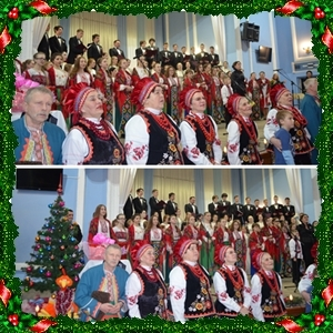 """Різдвяний концерт відділу """"Хорове диригування""""."""