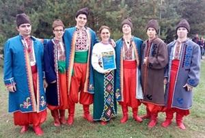 I-й міжнародний пісенний фестиваль козацької пісні. м. Кривий Ріг