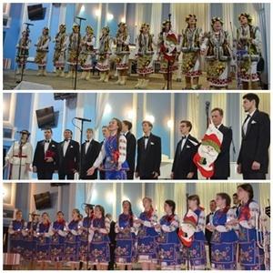 Різдвяний концерт спеціалізації «Хорове диригування».