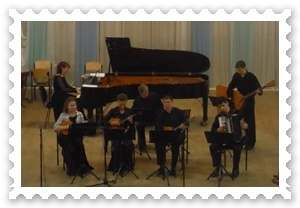 Різдвяний концерт спеціалізації «Народні інструменти».