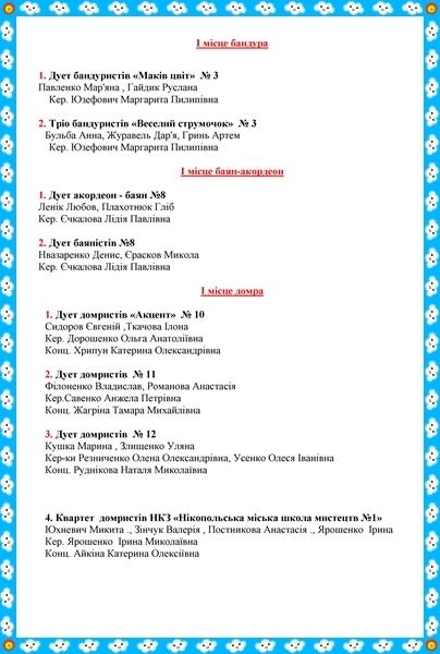 """Регіональний фестиваль – конкурс  """"Україна  моя""""- 2017."""