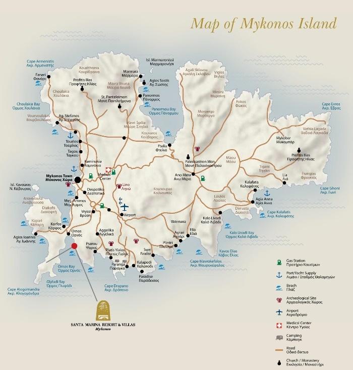 Остров Миконос - живописный, великолепный и просто потрясающий