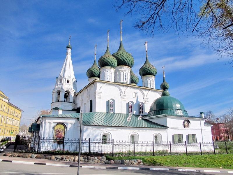 """""""Позолоченные"""" города Золотого Кольца: Ярославль и Кострома"""