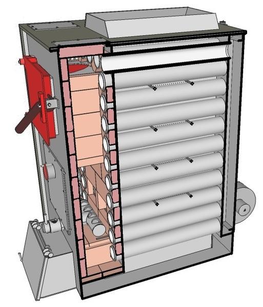 Котлы на твердом топливе с воздушным теплообменником примерный расчет пластинчатых теплообменников