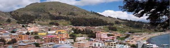 Фото.12. Из цветных камней построен город Копакабана.