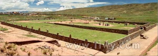 Фото.13. Священное место для индейского племени аймара - Тиауанако.