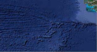 Фото 14. Неглубоководный шельф и мыс Альмади на западе Африки.